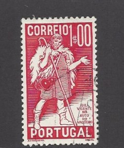 Portugal, 573, Gil Vicente Single, **Used**