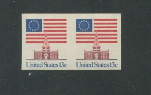 United States Postage Stamp #1625a MNH VF Imperf Pair