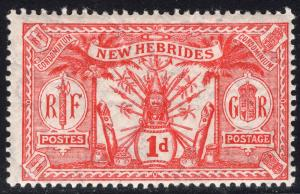 NEW HEBRIDES-BRITISH SCOTT 18