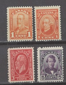 COLLECTION LOT # 3091 CANADA 4 MNH STAMPS 1927+ CV+$21
