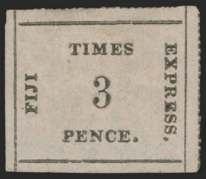 Fiji Scott 7 Gibbons 6 Mint Stamp