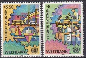 United Nations Vienna #88-9  MNH CV $2.85  (SU8094)