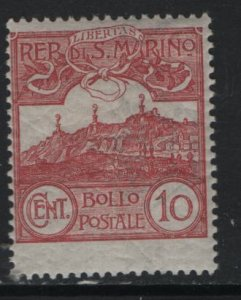 SAN MARINO 45    MINT HINGED, ISSUES OF 1903-1925