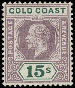 Gold Coast Scott 94 Gibbons 100 Never Hinged Stamp