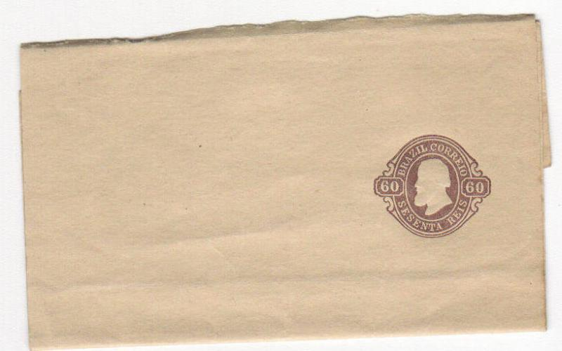 Brazil 60r Postal Stationary Unused (old)