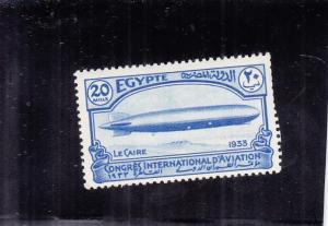 Egypt: Zeppelin, MNH, Sc #176, Cat. $24.00 (S14035)