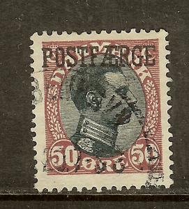 Denmark, Scott #Q7, 50o Parcel Post, Used