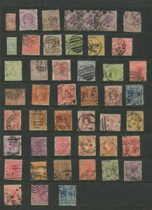 STAMP STATION PERTH Victoria Selection of 41 Stamps Unchecked Used -Lot 18