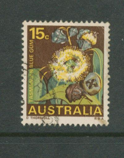 Australia SG 422 Used minor crease on reverese