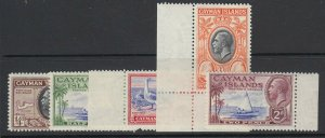 Cayman Islands, Scott 85-89 (SG 96-100), MNH
