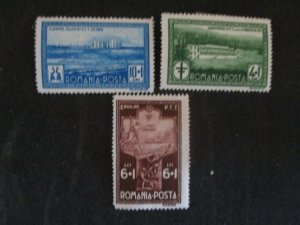 Romania #463, 465-66 Mint Hinged WDWPhilatelic (H5K7)