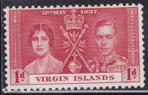 British Virgin Islands 73 Common Design 302 1937