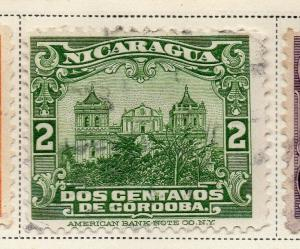 Nicaragua 1928 Early Issue Fine Used 2c. 323663