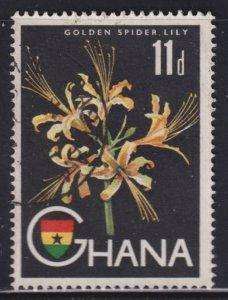 Ghana 56 Golden Spider Lily 1959