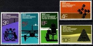 New Zealand #495-9  MNH CV $3.65 (X7099)