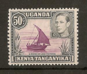 KUT 1938 50c SG144 Mint Cat£23