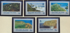 Pitcairn Islands Stamps Scott #198 To 202, Mint Never Hinged - Free U.S. Ship...
