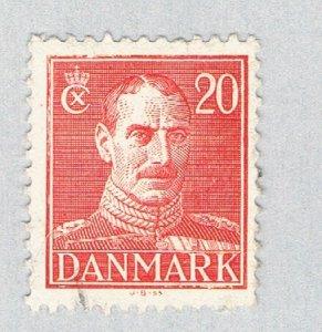 Denmark King Christian X orange 2 (AP131441)