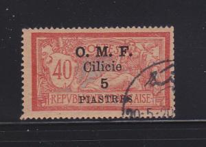 Cilicia 106 U Overprint (A)