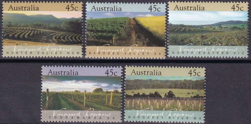 Australia #1262-66 MNH  CV $4.00  (A19782)