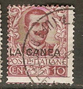 Italy Off Crete 6 SG 6 Used  Avg 1906 SCV $210.00