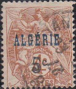 Algeria #4    Used