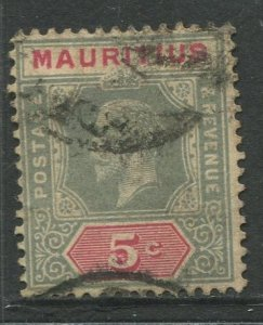 STAMP STATION PERTH Mauritius #152 KGV Definitive Issue FU Wmk 3 Type I 1912-22