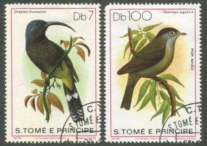 ST. THOMAS & PRINCE ISLANDS #544, 546 USED