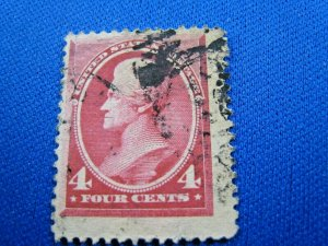 UNITED STATES,  1888   SCOTT #215 -  Used