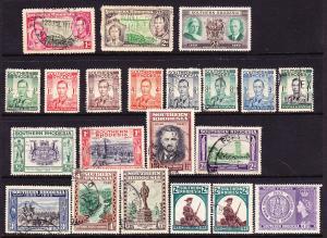 RHODESIA/ZIMBABWE 1937-94 VARIOUS M&U