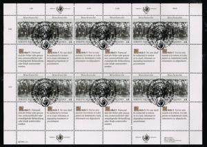 UN (Vienna) 95 - 96   - 2 Human Rights(12) MS - FDC - VF - MNH CV$19.50