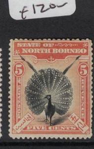 North Borneo SG 100a MOG (10dos)