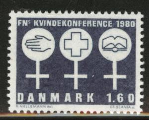 DENMARK  Scott 663 MNH** 1980 stamp
