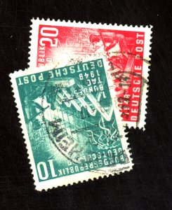 GERMAY #665-6 USED F-VF Cat $36
