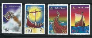 Isle of Man MUH SG 793 - 796