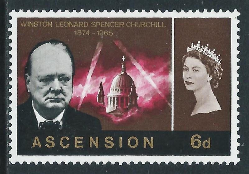Ascension, Sc #98, 6d MNH