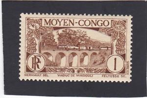 Middle Congo # 65 MNH