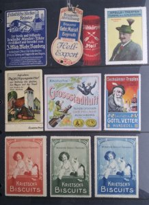 World Exhibition, Convention, Stamp Show, Poster, Label stamp Collection LOT#Q14