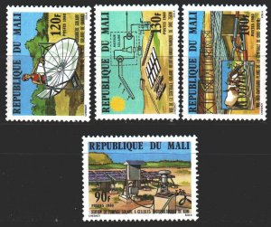 Mali. 1980. 758-61. Solar energy, cow. MNH.