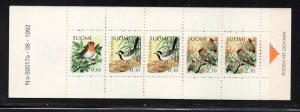 Finland Sc 857a 1992 Birds stamp booklet mint NH