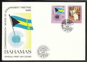Bahamas 586-587  U/A FDC