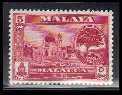 Malaya-Malacca Very Fine MLN ZA4367