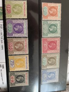 Seychelles 63-72 H