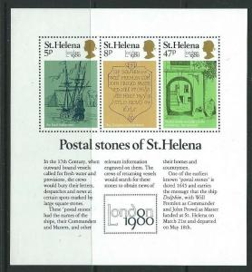 ST.HELENA SGMS365 1980 LONDON 80 MNH