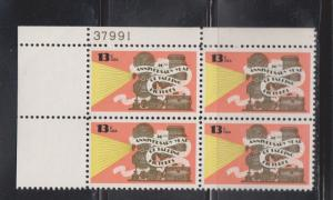 USA Scott # 1727 MNH - 50th Anniversary Talking Pictures Plate Block