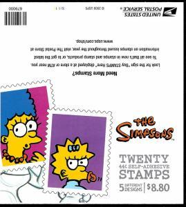 4403b Mint,OG,NH... Booklet Pane... SCV $23.00... Cover #2