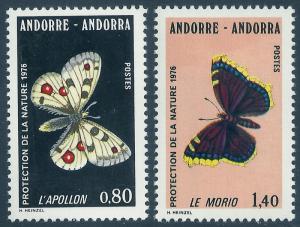 ANDORRA-FRENCH SCOTT 251-252