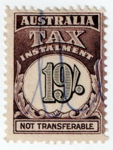 (I.B) Australia Revenue : Tax Instalment 19/-
