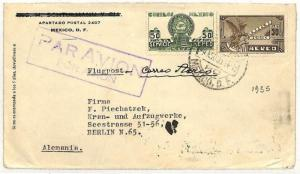 QQ61 1935 Mexico Berlin Germany Cover Samwells-covers