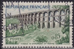 France 948 USED 1960 Chaumont Viaduct